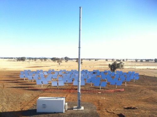 Australian concentrated solar photovoltaic project
