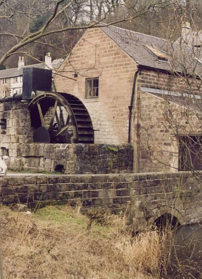 Old water wheels can be as picturesque as old wind mills.