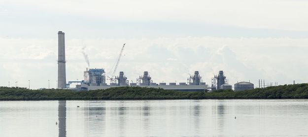 The Turkey Point Generating Station. Photo by Acroterion. CC BY-SA 3.0. Wikimedia Commons.