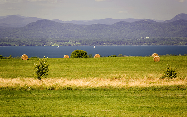 Green Mountain Power will help reduce pollution in Lake Champlain. St Albans Bay is seen here. GMP photo.