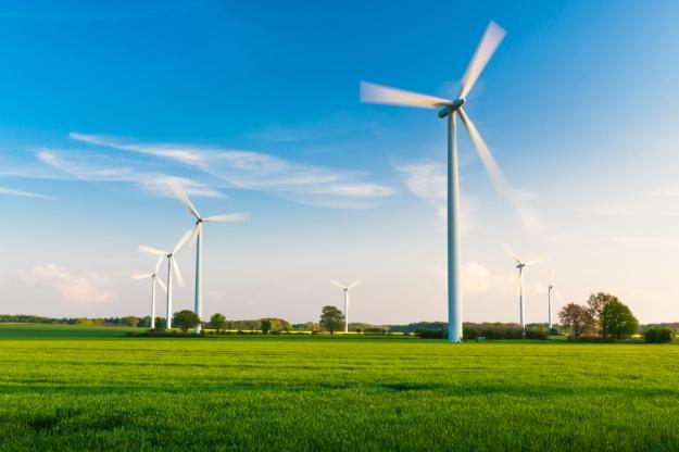 German wind farm via Shutterstock