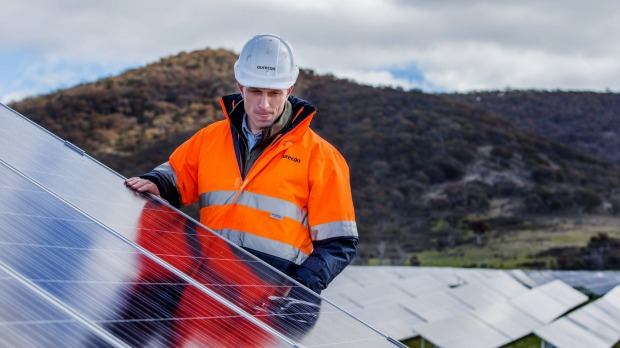 Ninety percent of households are looking to solar panels. Photo: Matt Bedford