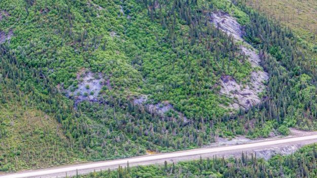 Alaska's highways department is set to move a section of roadway under greatest threat from the landslide. UAF
