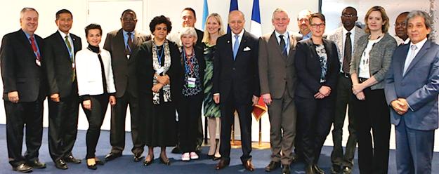 COP21 Facilitators – Meeting go on around the clock.