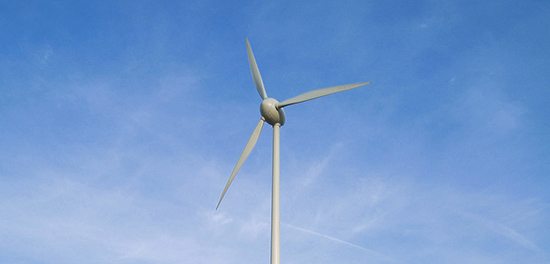 It's windpower for the Royal Society For the Protection of Birds.