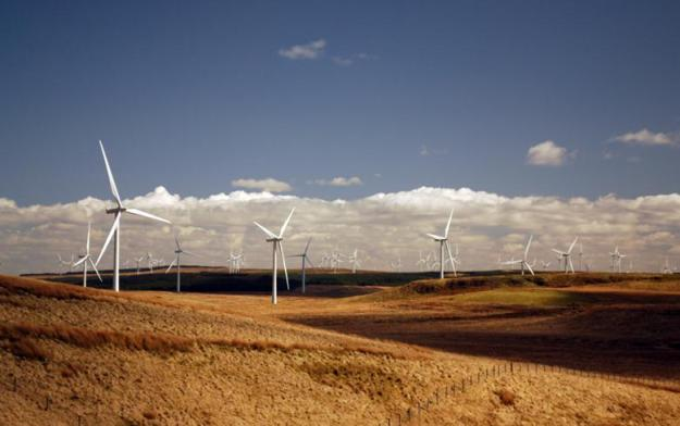 Whitelee wind farm in Scotland. Author: ms.akr. License: Creative Commons, Attribution 2.0 Generic