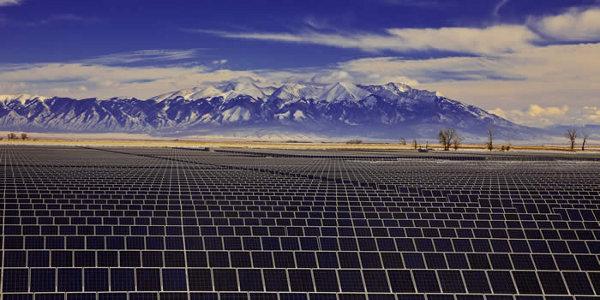 Colorado solar plant