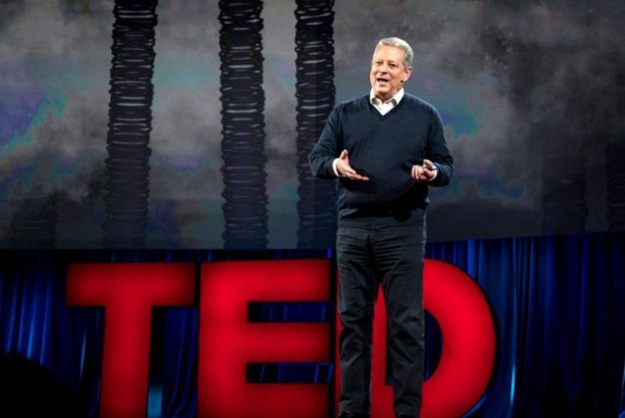 "Al Gore struck a note of optimism during his TED2016 talk in Vancouver. ""Change can happen faster than we think,"" he argued."