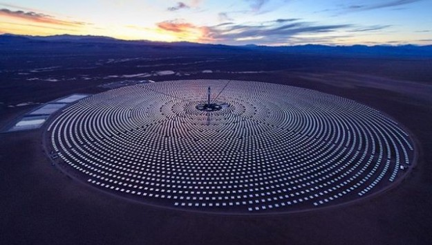 The Crescent Dunes solar project outside of Tonopah, Nevada. Photo: SolarReserve