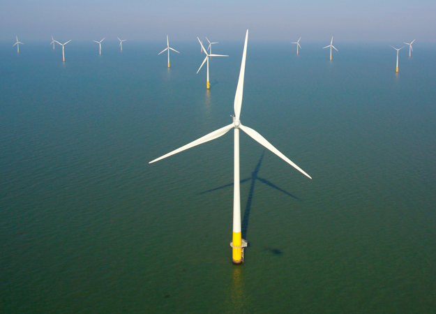 Kentish Flats offshore wind farm (Vattenfall image)