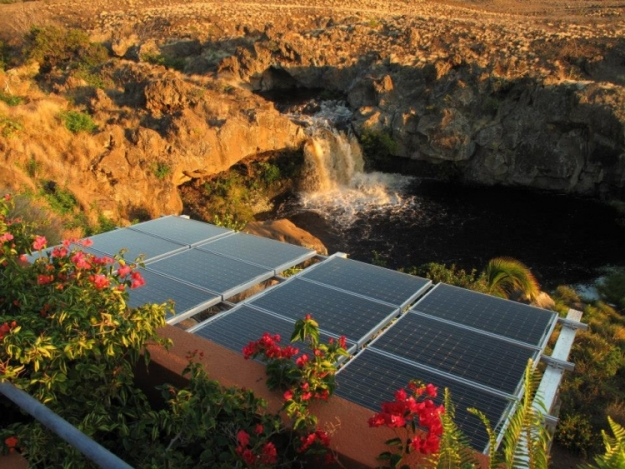Solar PVs in Hawaii. Image: Renewable Energy Services Facebook page