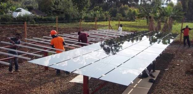 Microgrid construction © Powerhive