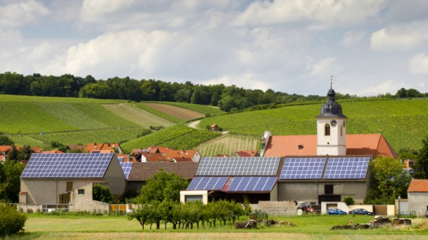 Solar power in Germany. Shutterstock image.