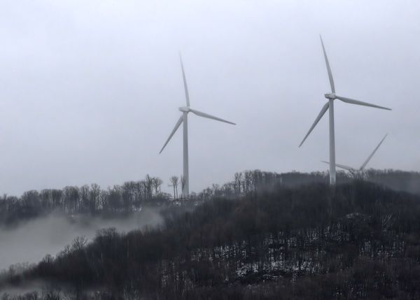 A wind energy project in Vermont. File photo by Roger Crowley / VTDigger