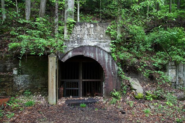 Perhaps this abandoned coal mine in West Virginia is a valuable antique. Photo by ForestWander. CC BY-SA 3.0 US. Wikimedia Commons.