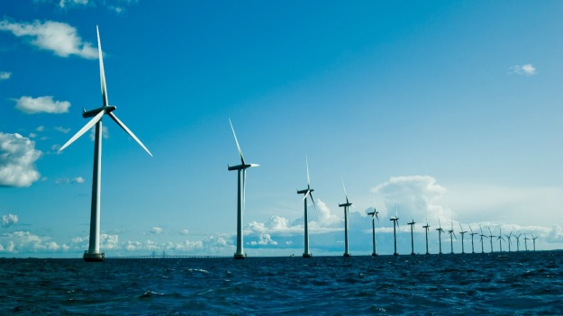 Danish offshore wind turbines (Shutterstock)