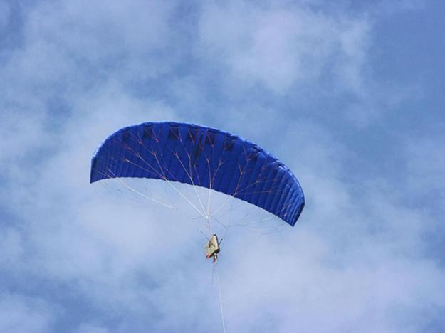 The kite to provide power (Kite Power Solutions Ltd)