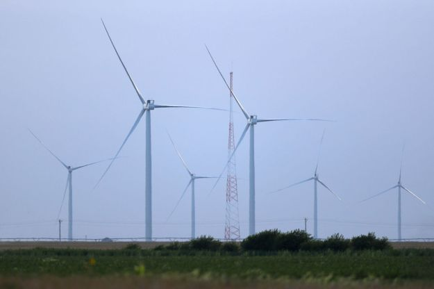 Grande Prairie wind farm (Megan Farmer / The World Herald)