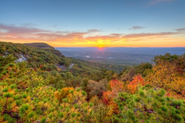 Autumn Morning at Mohonk Preserve (photo by Kate Schoonmaker)