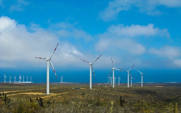 Wind farm in Chile (Author: Diego Correa)