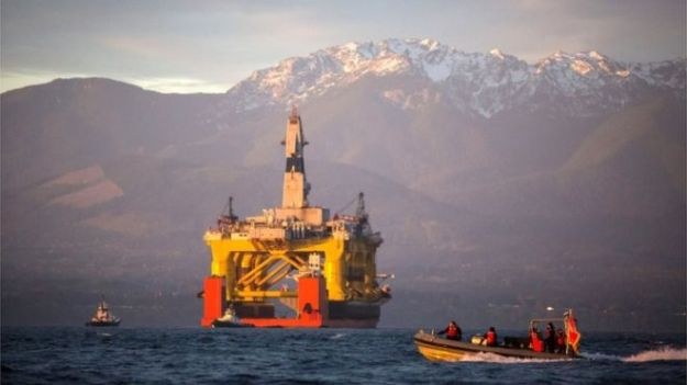 Nearly 400 scientists signed a letter urging Mr Obama to eliminate Arctic offshore drilling. (AP photo)