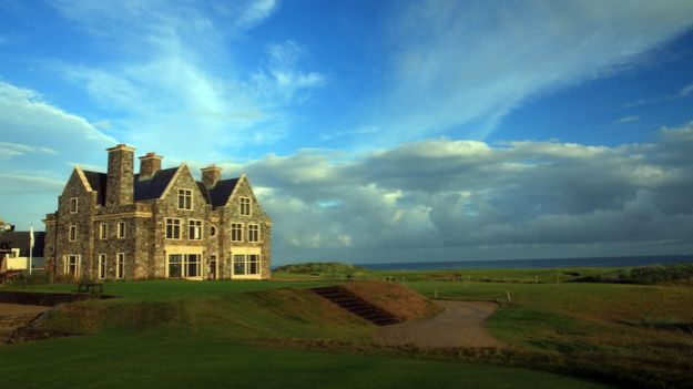 Donald Trumps Doonbeg hotel and golf course