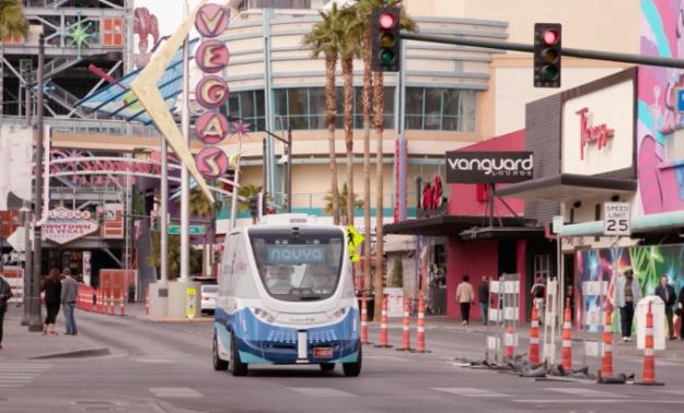 Navya Shuttle Las Vegas