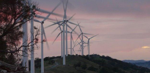 Australian wind turbines